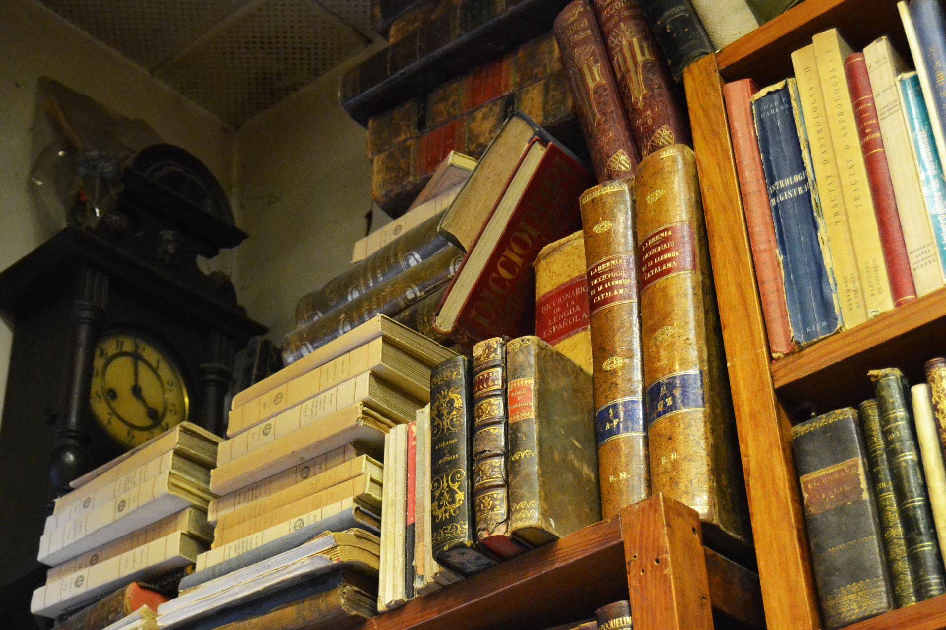 希少なアンティーク洋書が所蔵されたヨーロッパの古書店
