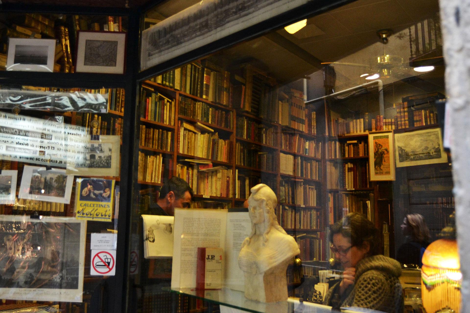 知る人ぞ知るヨーロッパの古書店