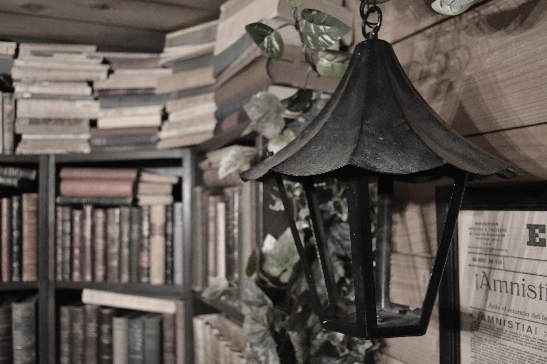 自分で選書した本で飾った書棚ディスプレイ